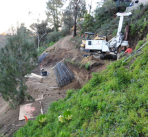 Malibu Caisson Drilling Contractor